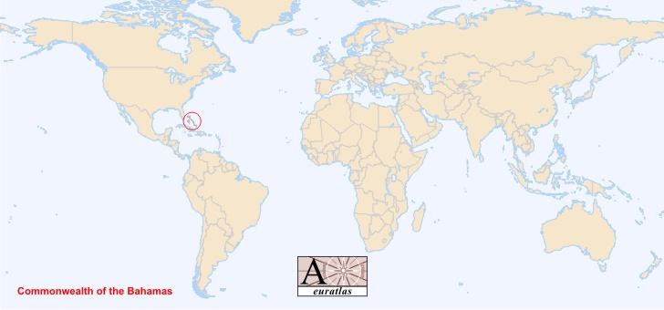 Carte Du Monde Bahamas.Bahamas